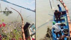Garbage trap Chaophraya River-c